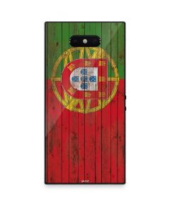Portuguese Flag Dark Wood Razer Phone 2 Skin