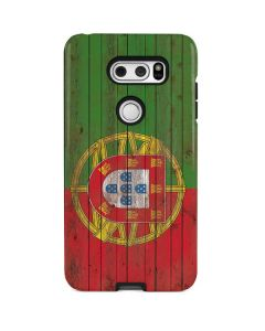 Portuguese Flag Dark Wood V30 Pro Case