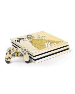 Princess Belle PS4 Pro Bundle Skin