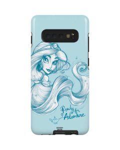 Princess Jasmine Ready for Adventure Galaxy S10 Plus Pro Case