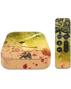 Profile of the Lion of Judah Apple TV Skin