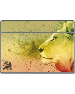 Profile of the Lion of Judah Galaxy Book Keyboard Folio 12in Skin