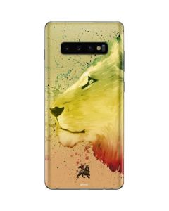 Profile of the Lion of Judah Galaxy S10 Plus Skin