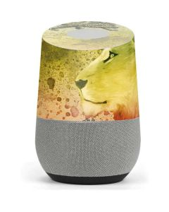 Profile of the Lion of Judah Google Home Skin