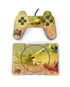 Profile of the Lion of Judah PlayStation Classic Bundle Skin