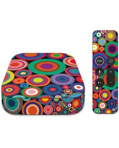 Psychedelic Circles Apple TV Skin