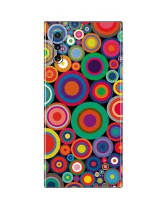 Psychedelic Circles Galaxy Note 10 Skin