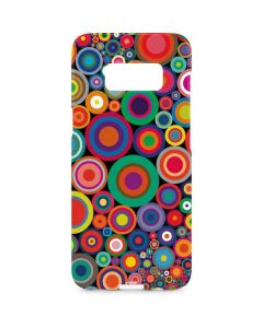 Psychedelic Circles Galaxy S8 Plus Lite Case