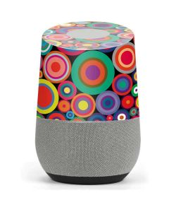 Psychedelic Circles Google Home Skin
