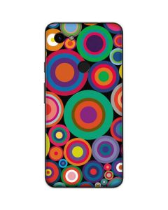 Psychedelic Circles Google Pixel 3a Skin