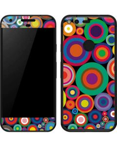 Psychedelic Circles Google Pixel Skin