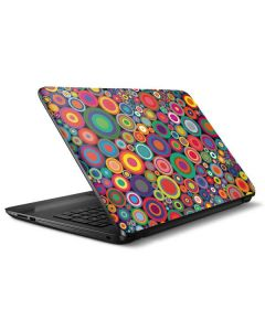 Psychedelic Circles HP Notebook Skin