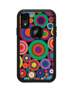Psychedelic Circles Otterbox Defender iPhone Skin