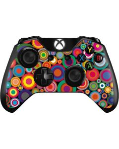 Psychedelic Circles Xbox One Controller Skin
