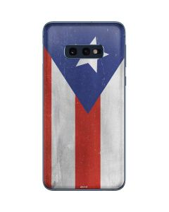 Puerto Rico Flag Distressed Galaxy S10e Skin