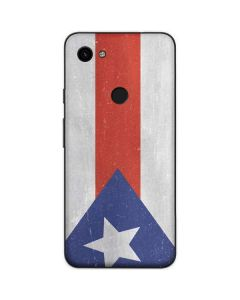 Puerto Rico Flag Distressed Google Pixel 3a Skin