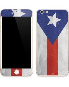 Puerto Rico Flag Distressed iPhone 6/6s Plus Skin