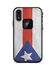 Puerto Rico Flag Distressed LifeProof Fre iPhone Skin