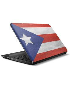 Puerto Rico Flag Distressed HP Notebook Skin