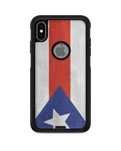 Puerto Rico Flag Distressed Otterbox Commuter iPhone Skin