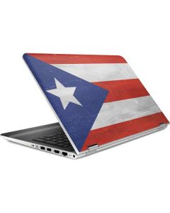 Puerto Rico Flag Distressed HP Pavilion Skin