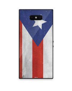 Puerto Rico Flag Distressed Razer Phone 2 Skin