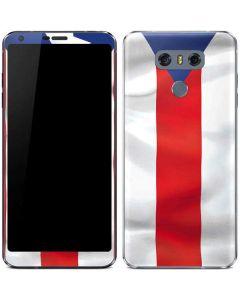 Puerto Rico Flag LG G6 Skin