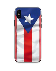 Puerto Rico Flag iPhone XS Skin
