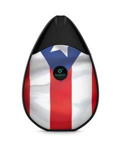 Puerto Rico Flag Suorin Drop Vape Skin