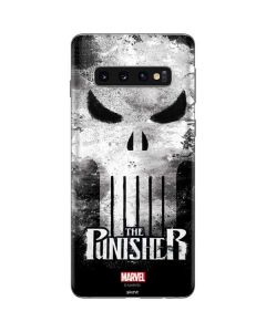 Punisher Long Skull Galaxy S10 Skin