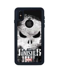 Punisher Long Skull iPhone X Waterproof Case