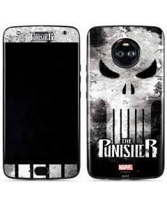Punisher Long Skull Moto X4 Skin