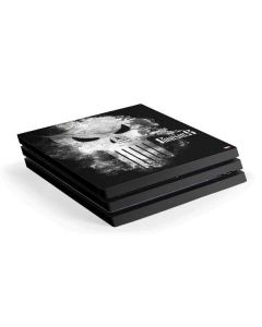 Punisher Long Skull PS4 Pro Console Skin