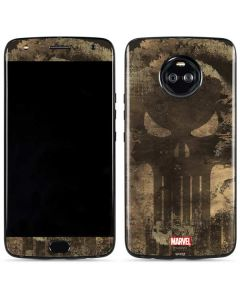 Punisher Skull Moto X4 Skin