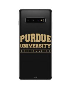 Purdue University Boilermakers Bold Galaxy S10 Plus Skin