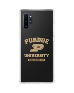 Purdue University Boilermakers Galaxy Note 10 Plus Clear Case