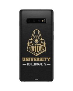 Purdue University Boilermakers Signature Logo Galaxy S10 Plus Skin