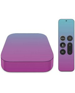 Purple and Blue Ombre Apple TV Skin