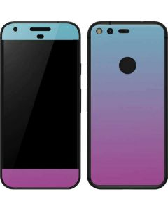 Purple and Blue Ombre Google Pixel Skin