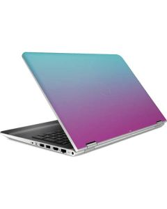 Purple and Blue Ombre HP Pavilion Skin