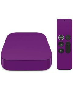 Purple Apple TV Skin
