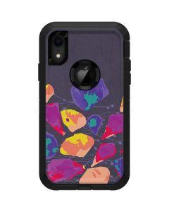 Purple Bouquet Otterbox Defender iPhone Skin