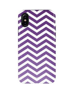 Purple Chevron iPhone XS Pro Case