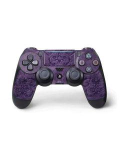 Purple Damask Butterfly PS4 Pro/Slim Controller Skin
