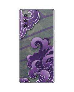 Purple Flourish Galaxy Note 10 Skin