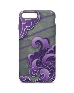 Purple Flourish iPhone 8 Plus Pro Case