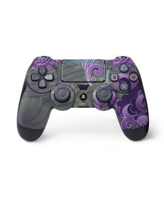 Purple Flourish PS4 Pro/Slim Controller Skin