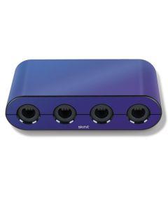 Purple Haze Chameleon Nintendo GameCube Controller Adapter Skin