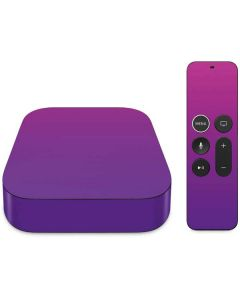 Purple Ombre Apple TV Skin