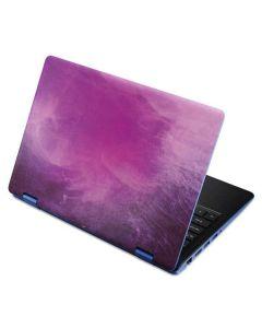 Purple Space Marble Aspire R11 11.6in Skin